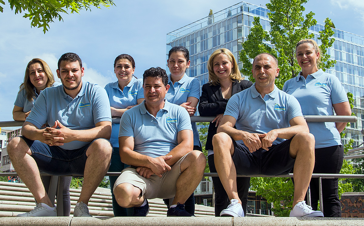 Gebäudereinigung-Hristova-Team2019